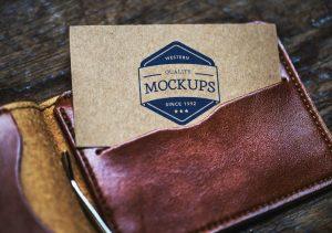 mock up business cards