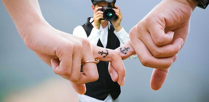 Sydney wedding photographer taking photos